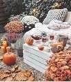 Есен на терасата - украсете със стил