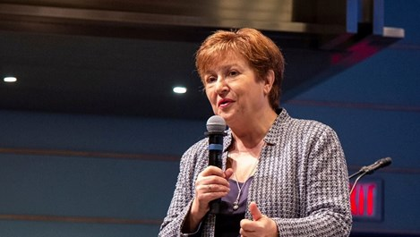 Избраха Кристалина Георгиева за управляващ директор на МВФ