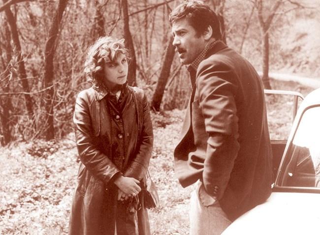 """Ирен Кривошиева със Стефан Данаилов на снимките на филма """"Поема"""". Според майката на актрисата те имат 2-годишна връзка."""