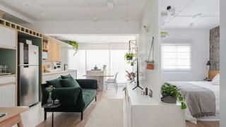 Зелени акценти в малкото жилище (галерия)