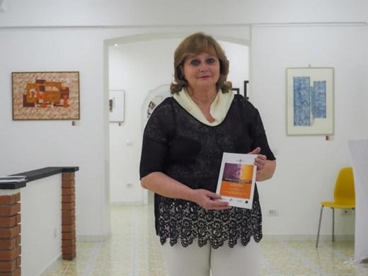 Таня Калимерова откри самостоятелна изложба в Рим