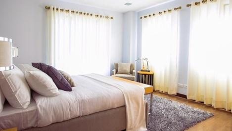 Пълна промяна за спалнята с малък бюджет (галерия)