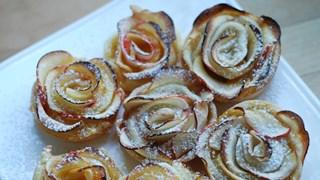Ефектен десерт с ябълки