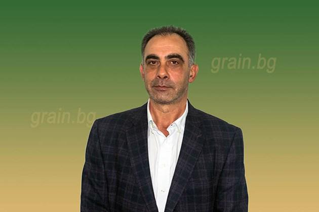 Радослав Христов, председател на Тракийския съюз на зърнопроизводителите Снимка: НАЗ