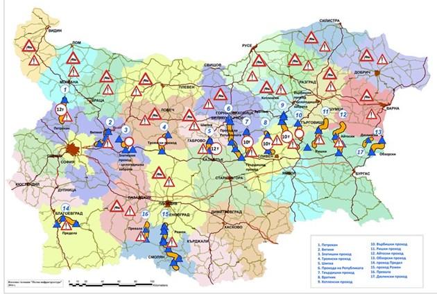 Vizh Karta Na Ptishata I Prohodite Zhlt Kod V 16 Oblasti