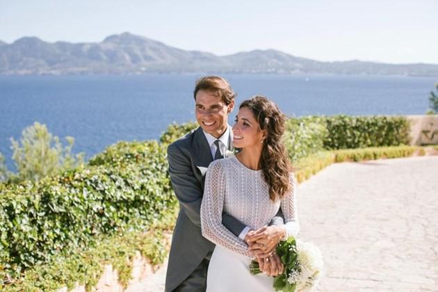 Ето първите снимки от сватбата на Рафа Надал