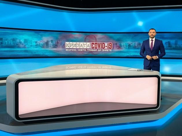 Антон Хекимян: Вместо вкъщи се изолирах в нюзрума на bTV
