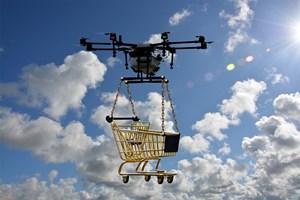 В бъдещето доставките могат да бъдат извършвани само от безпилотни летателни апарати