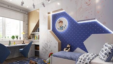 Стая за две момчета (галерия)