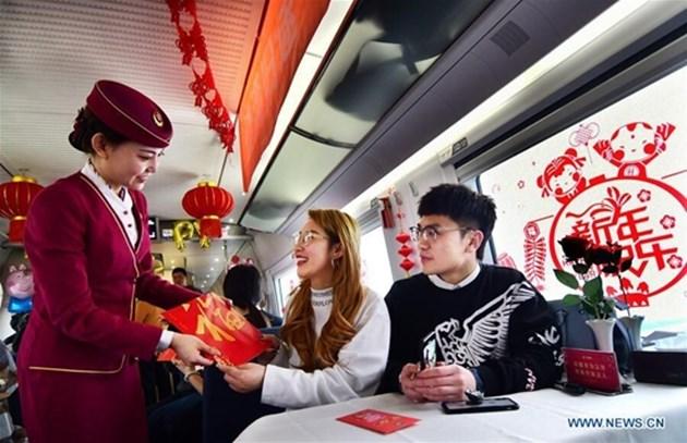 440 милиона пътувания с влак ще има по Китайската нова година