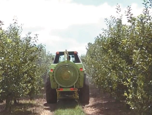 Smart Apply намалява чувствително количеството на пестицидите