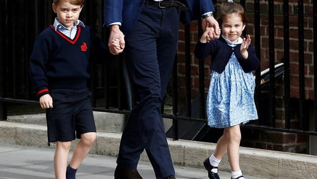 Съученици на принц Джордж и принцеса Шарлот - изолирани след пътуване до Италия