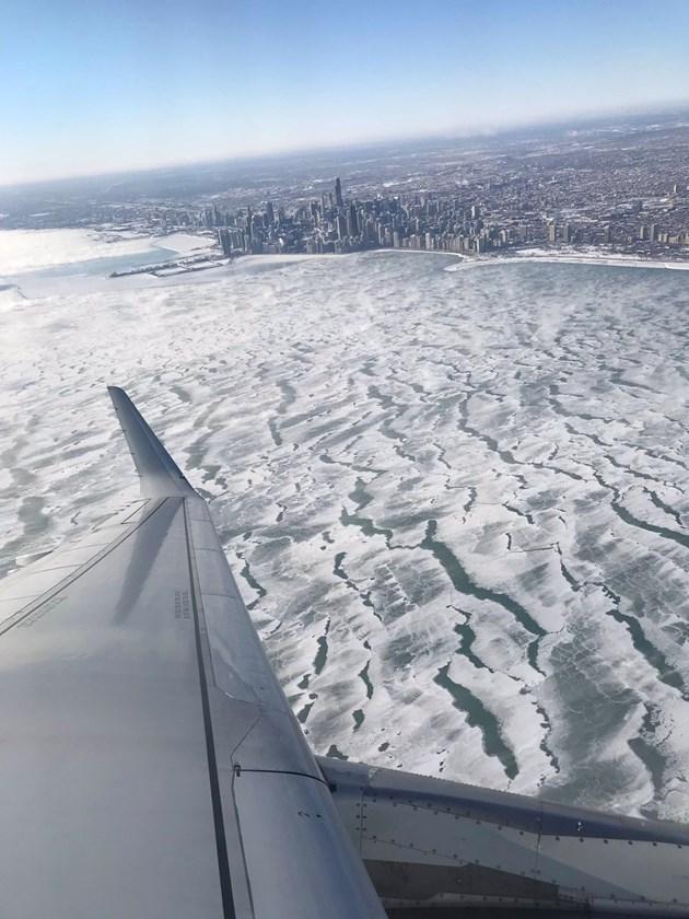 Чикаго скован в лед
