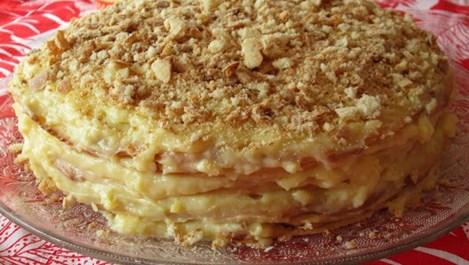 Бабина домашна торта