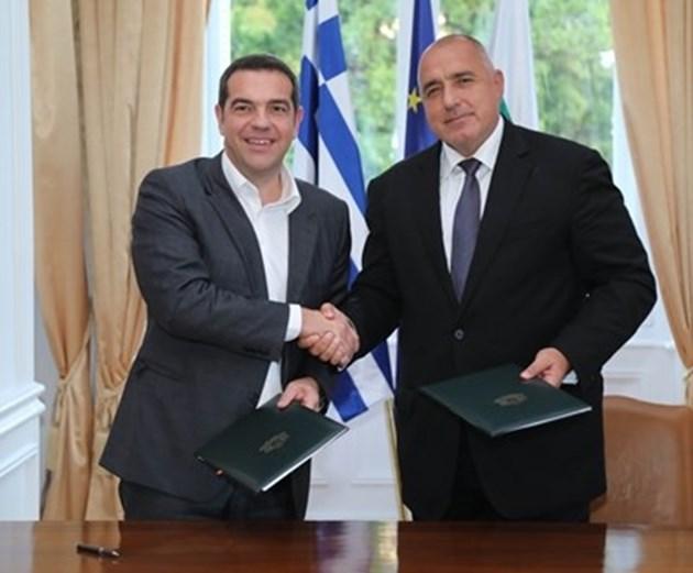 Борисов и Ципрас утре дават старт на изграждането на газова връзка между двете страни