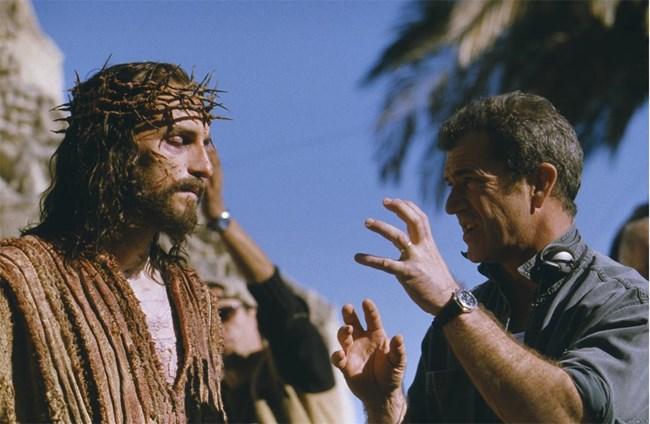 "Мел Гибсън снима  ""Страстите Христови"" в Матера."