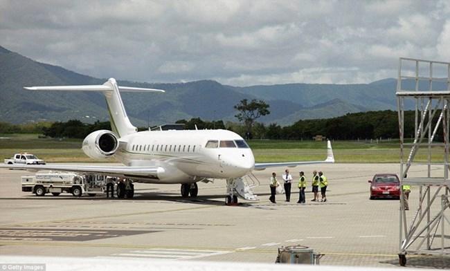 Самолетът на Опра Уинфри