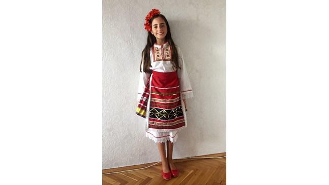 Дъщерята на Наталия Гуркова на световен конкурс в Бразилия