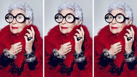 97-годишна фешън икона стана модел (Снимки)