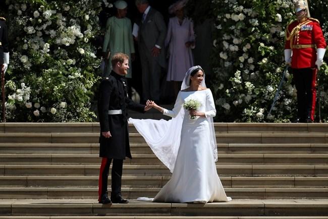 Принц хари и Меган Маркъл, снимки: Ройтерс