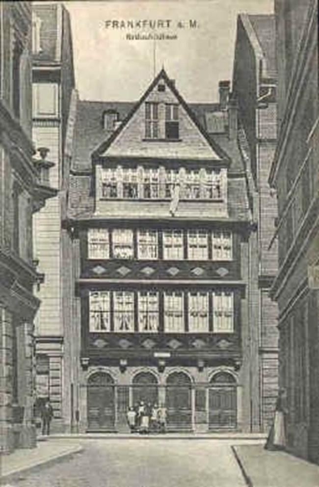 Къщата на Ротшилд във Франкфурт