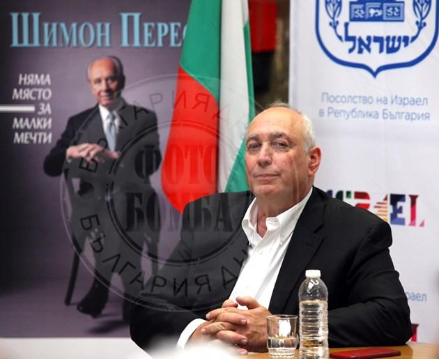 Хеми Перес: Баща ми Шимон казваше, че ние можем всичко