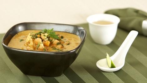 Богата месна супа с нахут