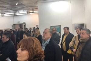 Стотици дойдоха да видят изложбата, събрала творби от различни периоди на големия Стоян Цанев.