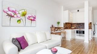 Скандинавска свежест в малкото жилище (снимки)