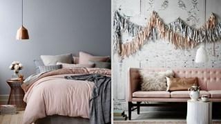 Сиво и розово - отлична комбинация за интериора (галерия)