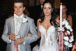 Емил и Ина се венчаха на 8 юни 2006 г.