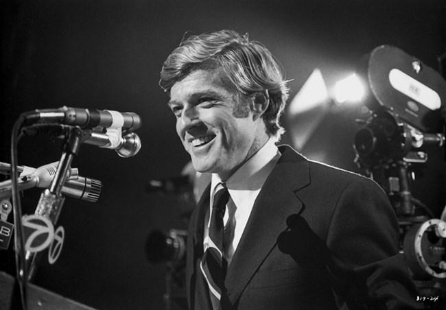 """Редфорд във филма """"Кандидатът"""" от 1972 г."""