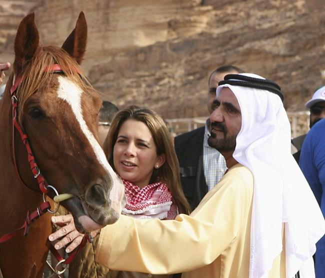 Емирът на Дубай и жена му са страстни почитатели на конете.