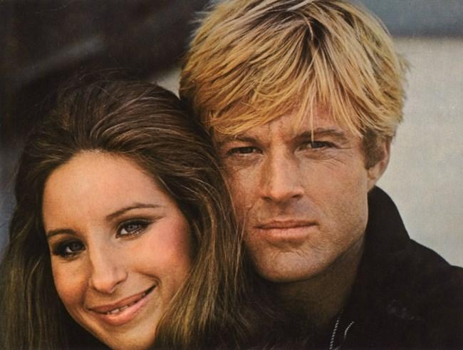 """Актьорът си партнира с Барбра Стрейзънд в романтичния филм """"Каквито бяхме"""" пред 1972 г."""