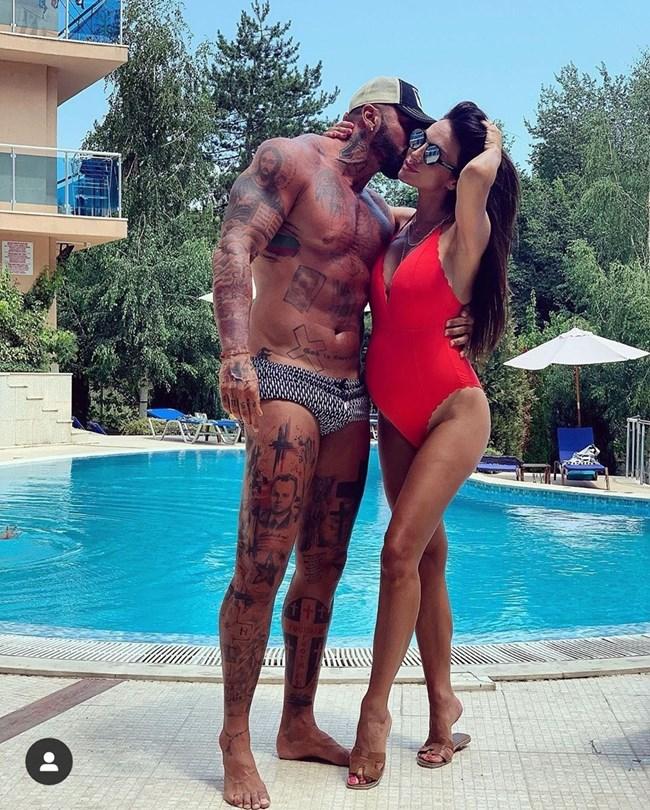 Благой Георгиев и Златка Райкова на почивката си в Обзор