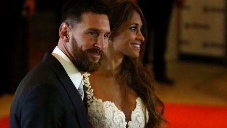 Лионел Меси се ожени (галерия + видео)