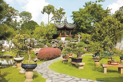Символите в китайската градина