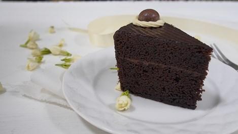 Какаов десерт с киноа