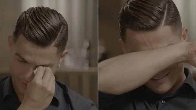 Великият Роналдо се разплака:Баща ми беше пияница