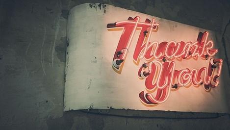 Благодарността e врата към успеха