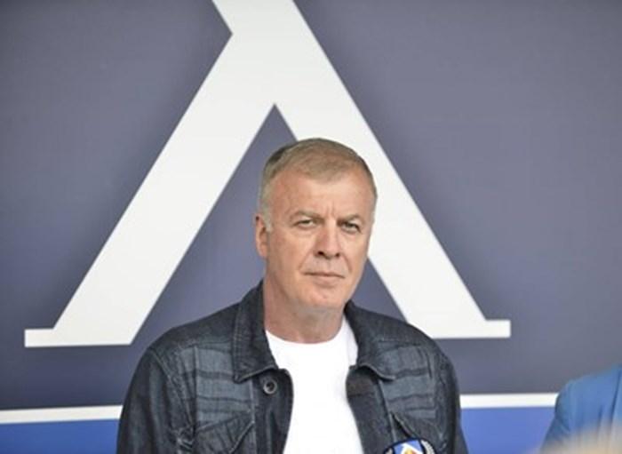 """Собственикът на """"Левски"""" Наско Сираков. Снимка Йордан Симеонов"""
