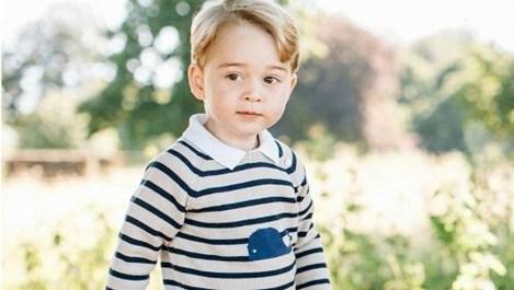 Принц Джордж започва училище