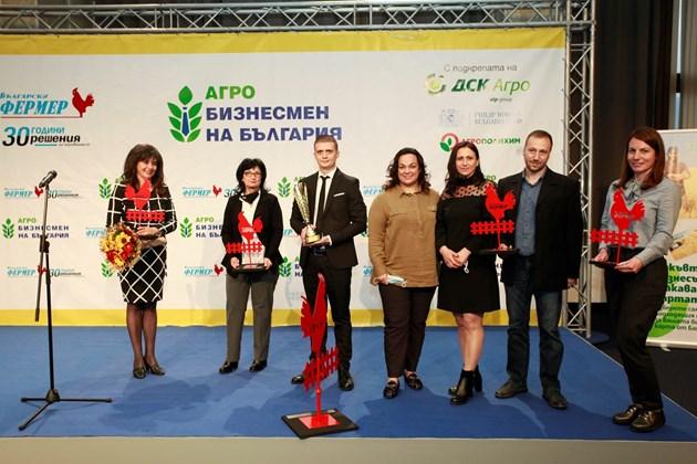 """Вече 29 години без прекъсване """"Български фермер"""" чува съветите на най-верните си консултанти - носителите на авторитетния приз """"Агробизнесмен на България""""."""