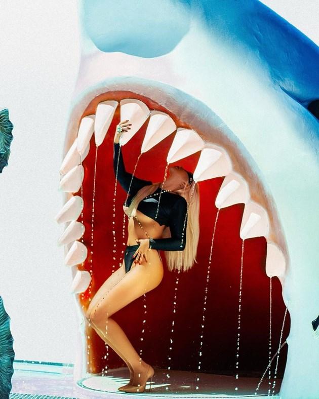 Андреа пипа акулата за зъбите