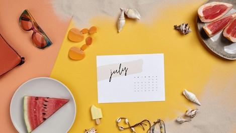 В астрологичните обятия на месец юли