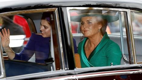 Наоми Кембъл, Деми Мур и Лив Тайлър на сватбата на принцеса Юджини и Джак (На живо)