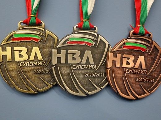 Уникални медали за призьорите във волейбола