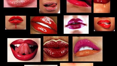 Красиви устни в домашни условия