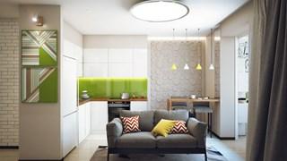 Идеи за гарсониерата и балкона (галерия)