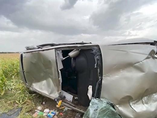 """Издирват шофьори, избягали от тежка катастрофа на магистрала """"Хемус"""""""